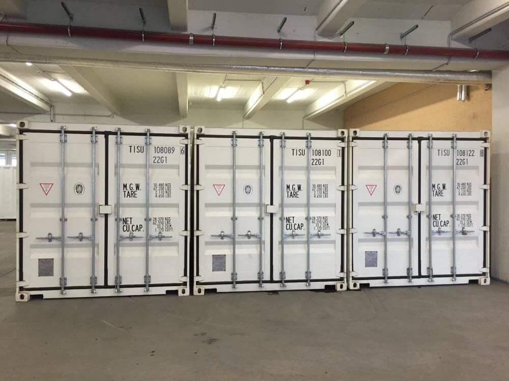 Hallenlager self storage einlagern auslagern container transport mobil