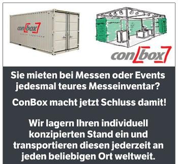 Messe & Eventstand Planung / Lagerung